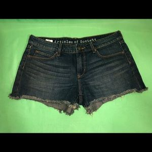 Articles of society jeans shorts